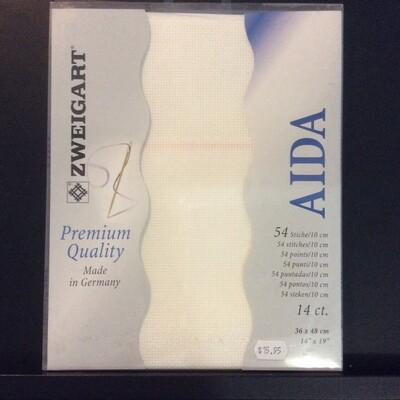 Aida 14ct PreCut Antique White (PC3706.101)