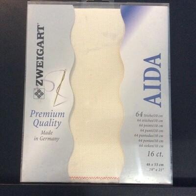 Aida 16ct Fat Qtr Ecru (FQ3251.264)