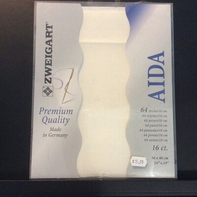 Aida 16ct PreCut Antique White (PC3251.101)
