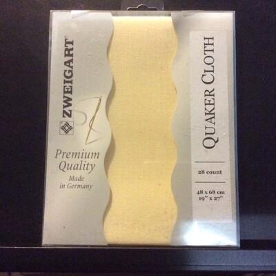 Linen Bantry/Quaker 28ct Cream Fat Qtr (FQ3993.222)
