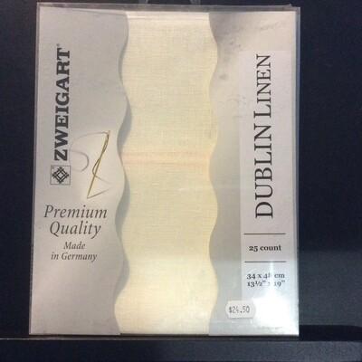 Dublin Linen 25ct PreCut Antique White (PC3604.101)