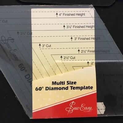 Sew Easy Diamond Multi Size 1