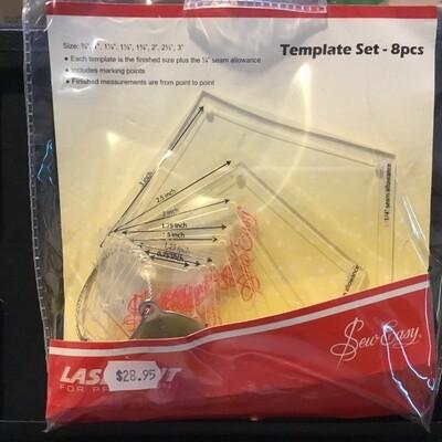 Sew Easy Pentagon Mini Set 8pc