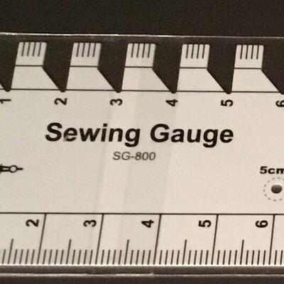 Sew Mate Sewing Gauge Ruler