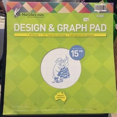 Matilda's Own Design & Graph Pad 15