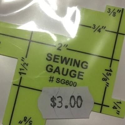 Sewing Gauge Imperial