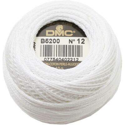 DMC116 Perle 12 Ball B5200 - Snow White