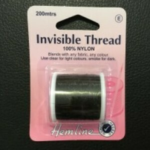 Hemine Invisible Thread Smoke 200m