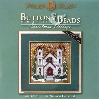 Mill Hill Buttons & Beads Winter Series - St Nicholas Cathedral (MH14-7305)