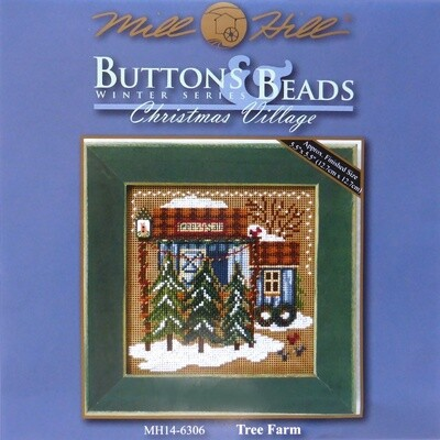 Mill Hill Buttons & Beads Winter Series - Tree Farm (MH14-6306)