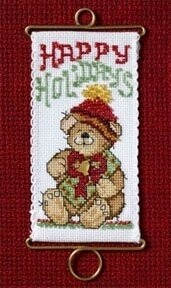 Mill Hill Holiday Greetings - Happy Holiday Bears (MH12-6303)