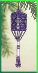Mill Hill Beaded Tassel Ornament - Orchid Tassel (MHBT5)