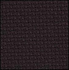 Aida 14ct w.110cm Black (3706.720) /10cm increment