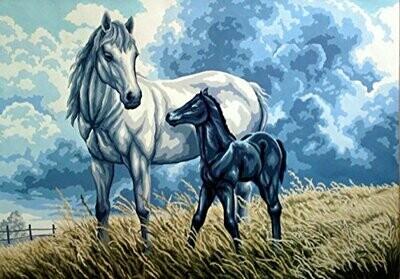 Gobelin L Tapestry - Horses (G10.553)