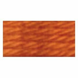DMC486 Tapestry Wool Skein 7919 - Light Orange Spice