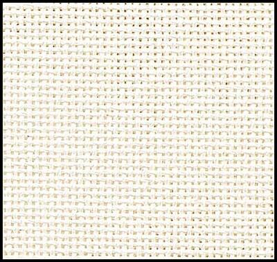 Lugana 29ct w.140cm Brittney Antique White (3835.101) /10cm increments