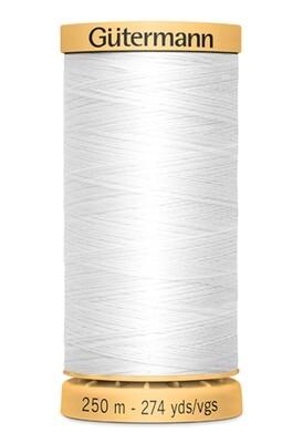 Gutermann Natural Cotton Thread 250m - 5709