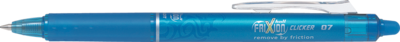 Pilot Frixion Clicker Retractable 0.7 Pen - Light Blue
