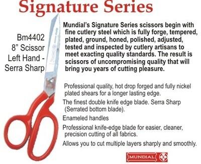 Mundial Signature Series Dressmaking Shears 08