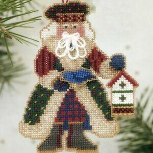Mill Hill Alpine Santa - Bluebird Santa (MHAS13)