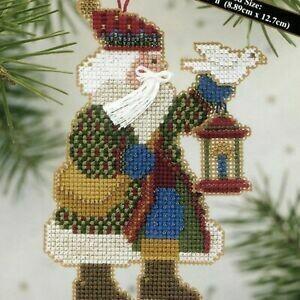 Mill Hill Alpine Santa - Dove Santa (MHAS14)
