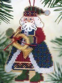 Mill Hill Musical Santas - French Horn Santa (MHMS12)