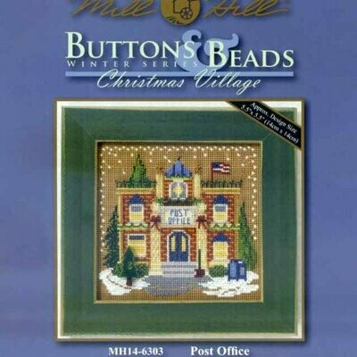 Mill Hill Buttons & Beads Winter Series - Post Office (MH14-6303)
