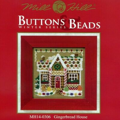 Mill Hill Buttons & Beads Winter Series - Gingerbread House (MH14-0306)