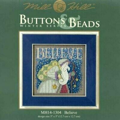 Mill Hill Buttons & Beads Winter Series - Believe (MH14-1304)