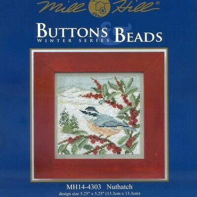 Mill Hill Buttons & Beads Winter Series - Nuthatch (MH14-4303)