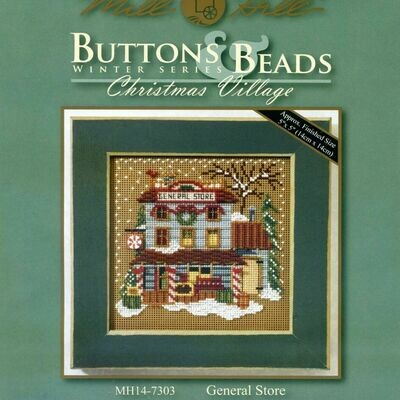 Mill Hill Buttons & Beads Winter Series - General Store (MH14-7303)