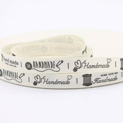 Fabric Label - 'Handmade' Design