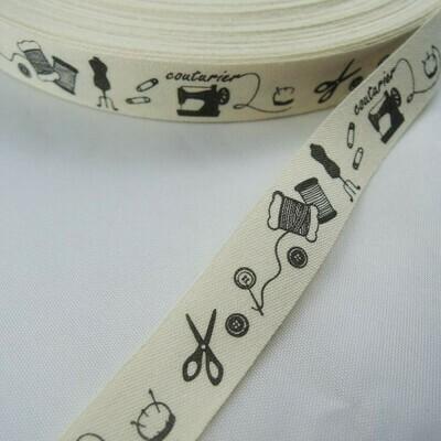 Ribbon Trim - 'Couture' Design 1m/pk