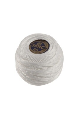 DMC Dentelles #80 Cotton Ball B5200 - Snow White