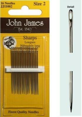 John James Sharps #05/10 pkt (JJ11050)