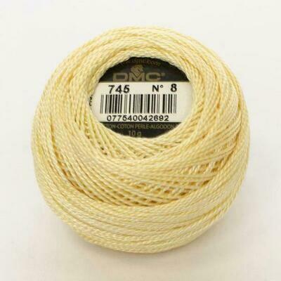 DMC116 Perle 05 Ball 0745 - Light Pale Yellow