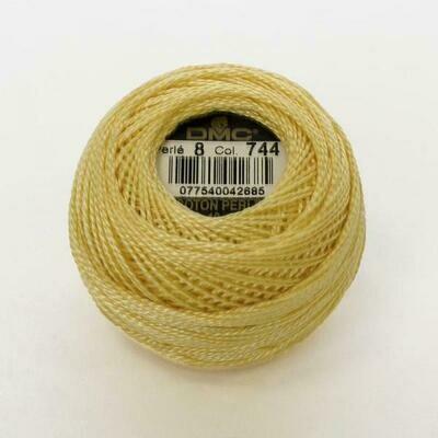 DMC116 Perle 05 Ball 0744 - Pale Yellow