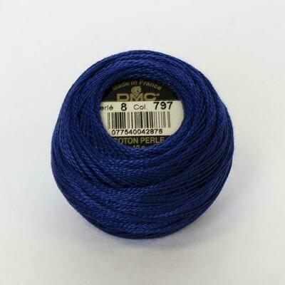 DMC116 Perle 05 Ball 0797 - Royal Blue