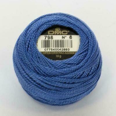 DMC116 Perle 05 Ball 0798 - Dark Delft Blue