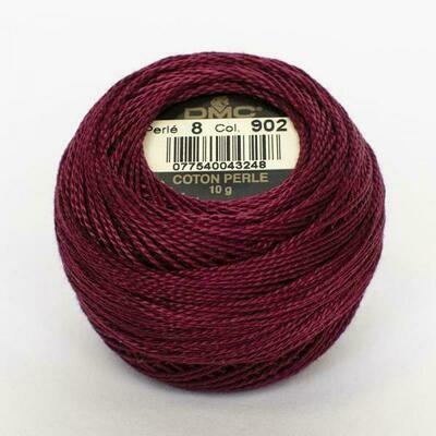 DMC116 Perle 05 Ball 0902 - Very Dark Garnet