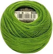 DMC116 Perle 05 Ball 0906 - Medium Parrot Green