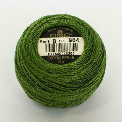 DMC116 Perle 05 Ball 0904 - Very Dark Parrot Green