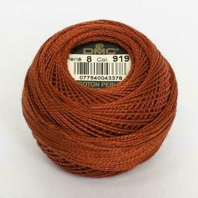 DMC116 Perle 05 Ball 0919 - Red Copper