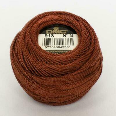 DMC116 Perle 08 Ball 0918 - Dark Red Copper