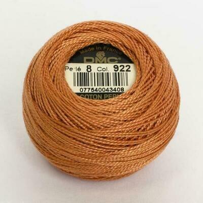 DMC116 Perle 08 Ball 0922 - Light Copper