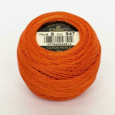 DMC116 Perle 08 Ball 0947 - Burnt Orange