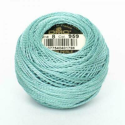 DMC116 Perle 08 Ball 0959 - Medium Seagreen