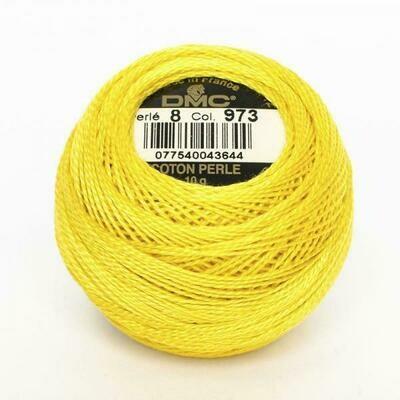 DMC116 Perle 08 Ball 0973 - Bright Canary