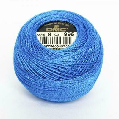 DMC116 Perle 08 Ball 0995 - Dark Electric Blue