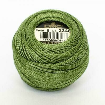 DMC116 Perle 05 Ball 3346 - Hunter Green